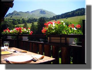 location dans la station de ski du Grand-Bornand